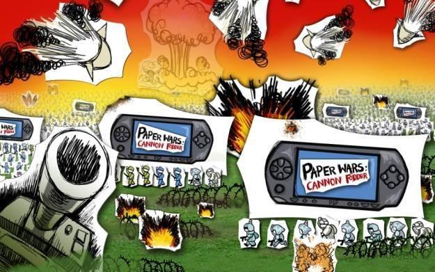 Paper Wars: Cannon Fodder - motyw graficzny /Informacja prasowa
