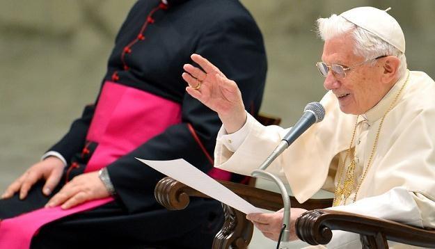 Papież Benedykt XVI /AFP