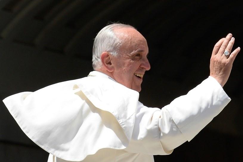 Papież Franciszek/AFP /ANDREAS SOLARO /East News