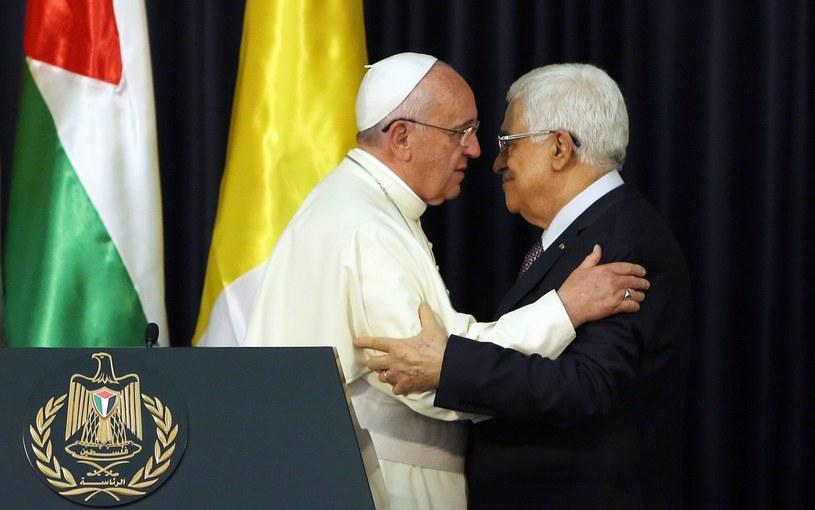 Papież Franciszek i przywódca Autonomii Palestyńskiej Mahmud Abbas /PAP/EPA