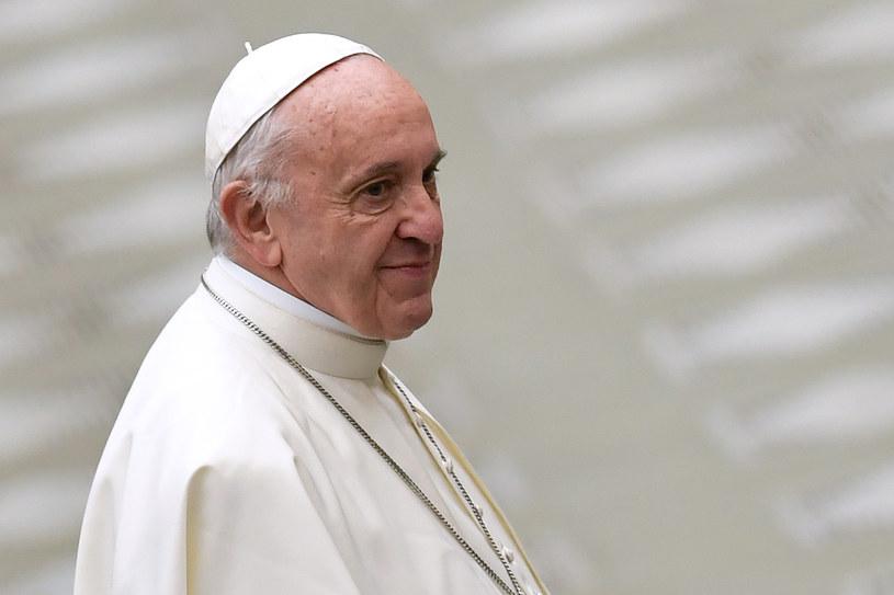 Papież Franciszek kończy w niedzielę 81 lat /ANDREAS SOLARO /AFP