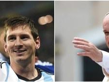 Papież Franciszek: Messi lepszy niż Maradona i Pele