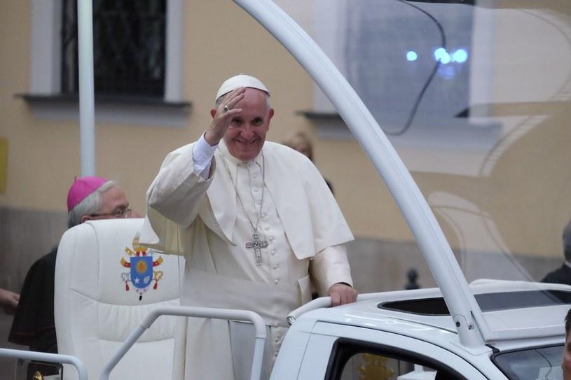Papież Franciszek odwiedził Polskę /Paweł Krawczyk /INTERIA.PL