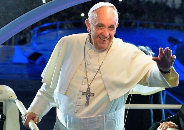 Papież Franciszek podczas Światowych Dni Młodzieży /AFP