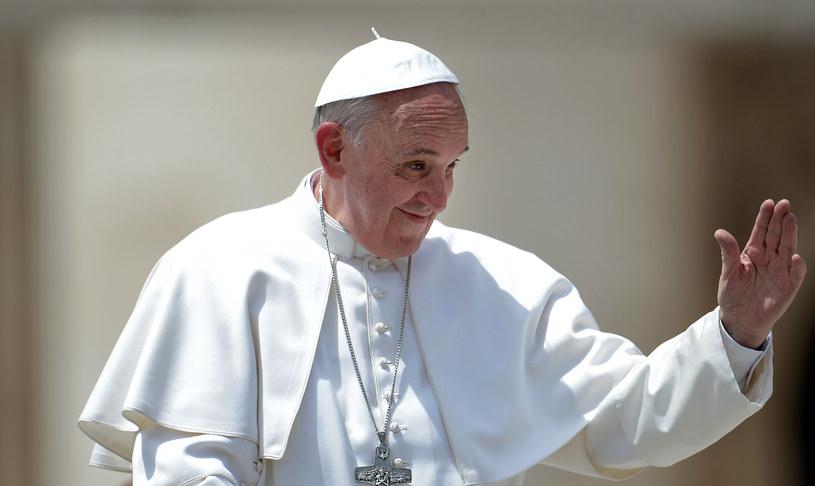 Papież Franciszek pozdrowił wiernych /AFP