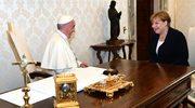 Papież Franciszek przyjął na audiencji kanclerz Merkel