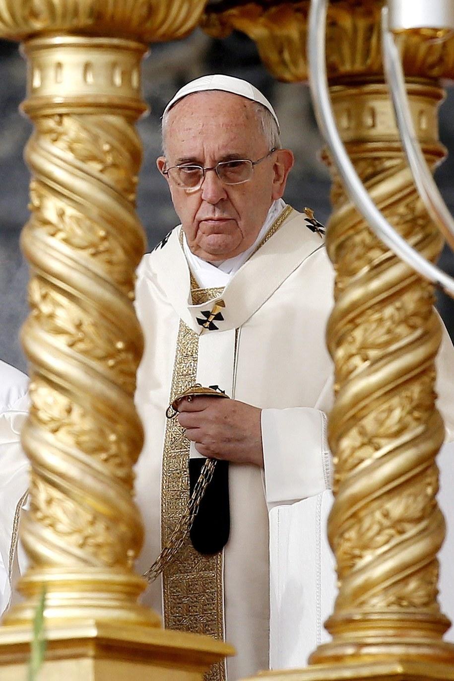 Papież Franciszek spotka się z 97-letnią Niemką, u której mieszkał przed 30 laty /Fabio Frustaci /PAP/EPA