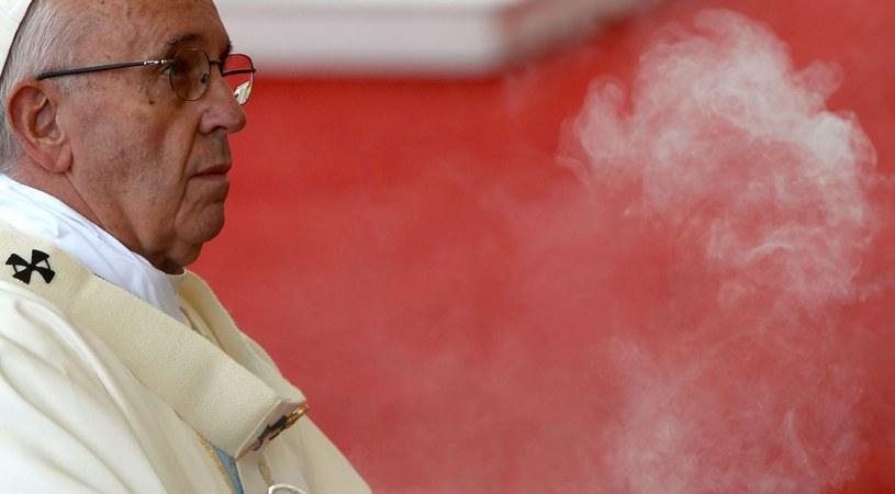 Papież Franciszek w Częstochowie /AFP