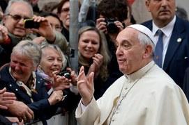Papież Franciszek w polskim kościele