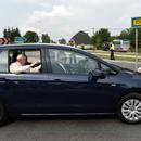 Papież Franciszek w Volkswagenie Golfie