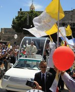 Papież Franciszek w Ziemi Świętej
