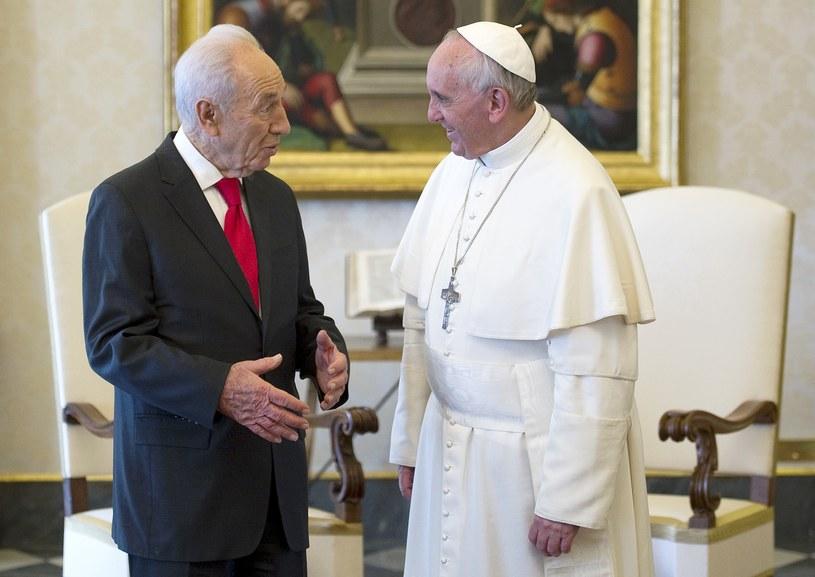 Papież Franciszek z prezydentem /AFP