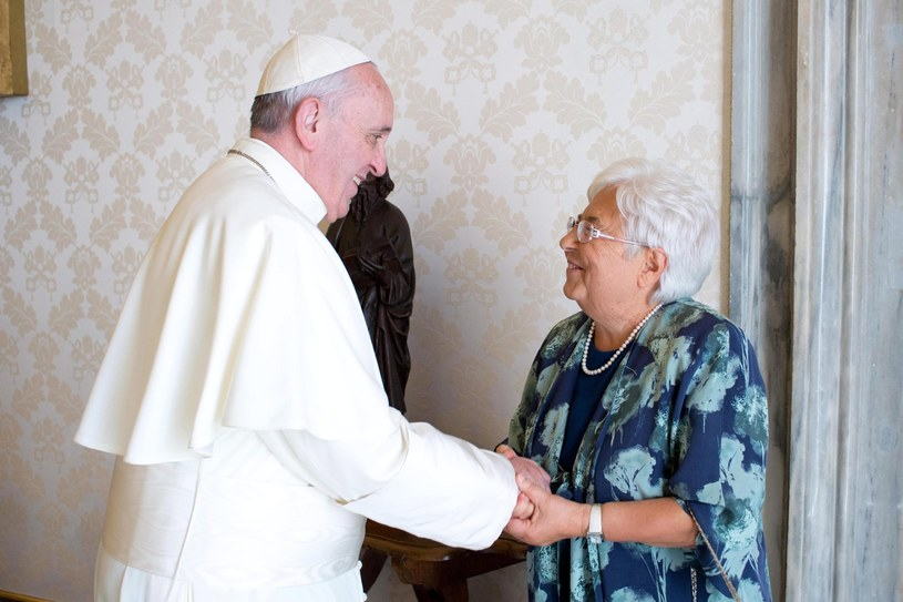 Papież Franciszek /L'OSSERVATORE ROMANO /PAP/EPA