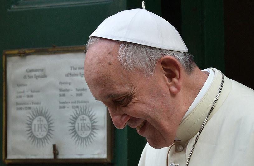 Papież Franciszek /AFP