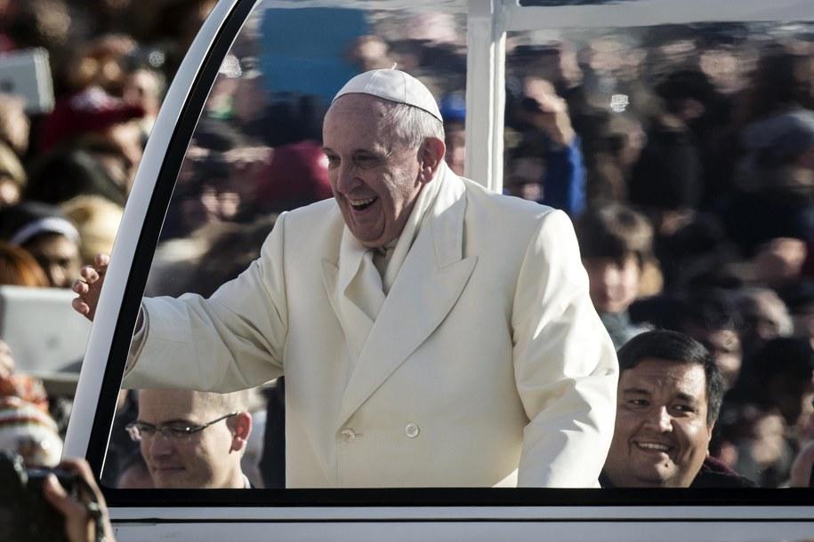 Papież Franciszek /ANGELO CARCONI /PAP/EPA