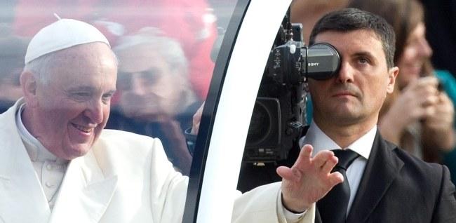 Papież Franciszek /PAP/EPA/CLAUDIO PERI /PAP/EPA