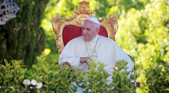 Papież Franciszek /PAP/EPA/NICOLA LANESE /PAP/EPA