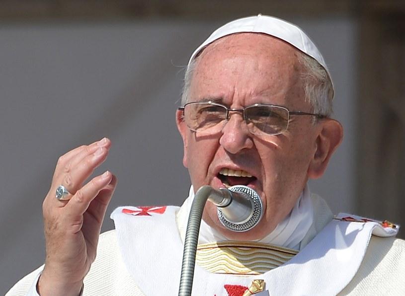 Papież Franciszek. /AFP