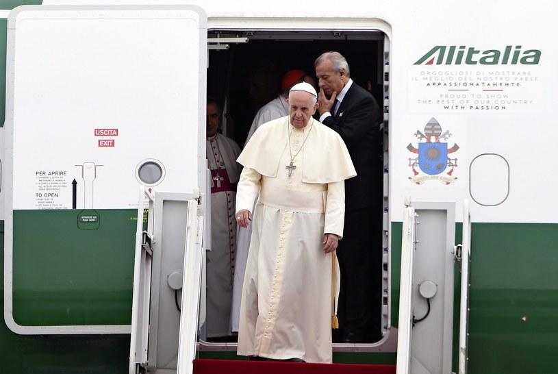 Papież Franciszek /DANIEL DAL ZENNARO  /PAP/EPA