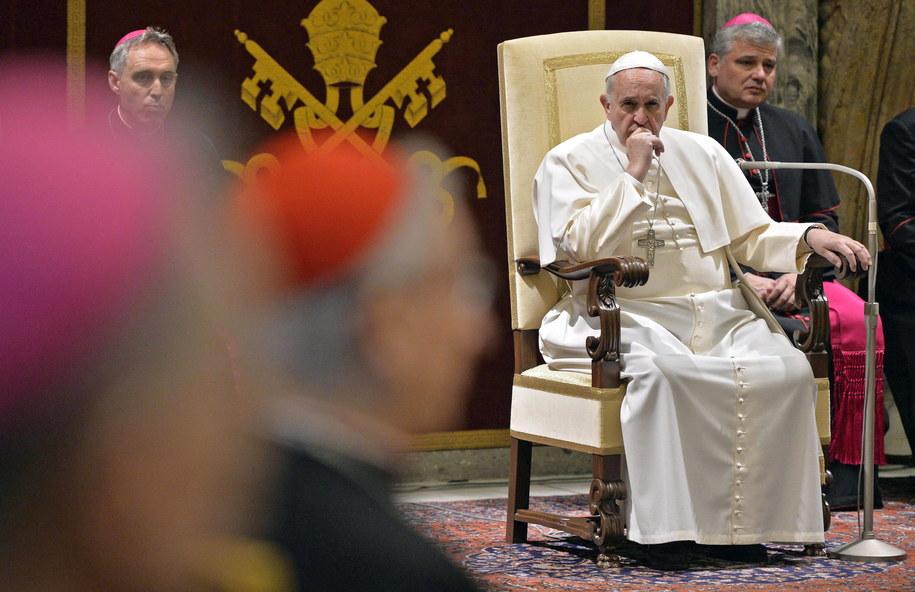 Papież Franciszek /ANDREAS SOLARO/POOL /PAP/EPA