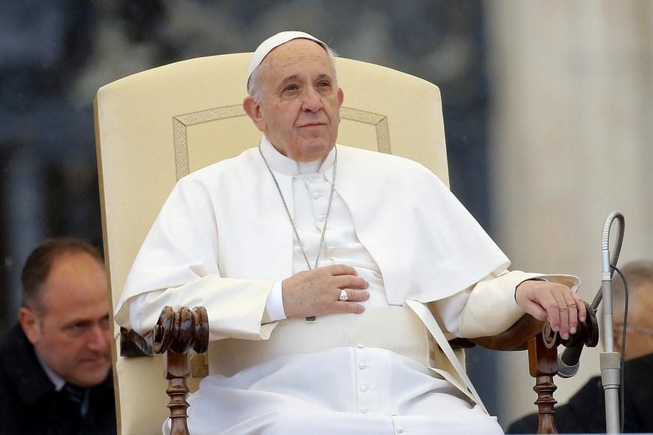 Papież Franciszek / FABIO FRUSTACI    /PAP/EPA
