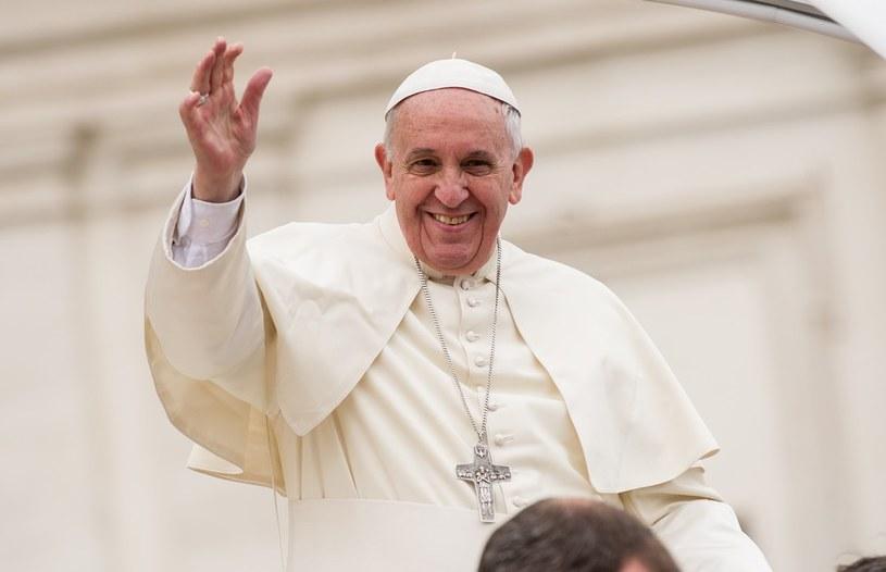 Papież Franciszek /Bartosz Krupa /East News