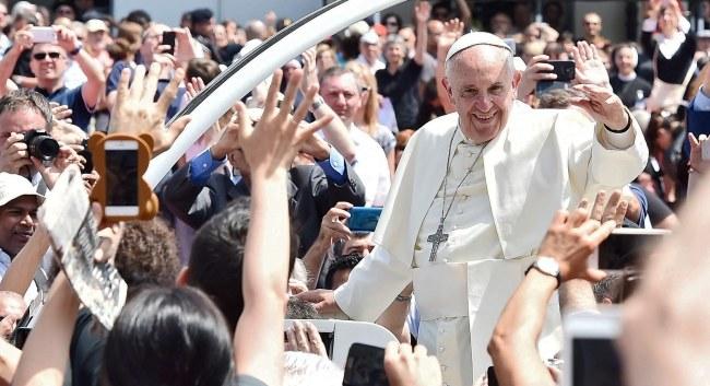 Papież Franciszek /PAP/EPA/TONINO DI MARCO /PAP/EPA