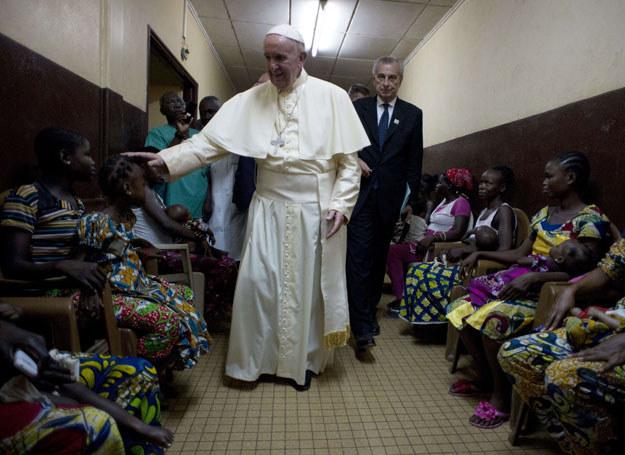 Papież Franciszek /OSSERVATORE ROMANO  /AFP