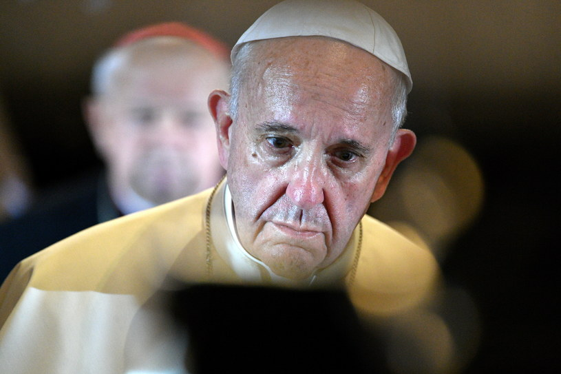 papież Franciszek /Maciej Kulczyński /PAP