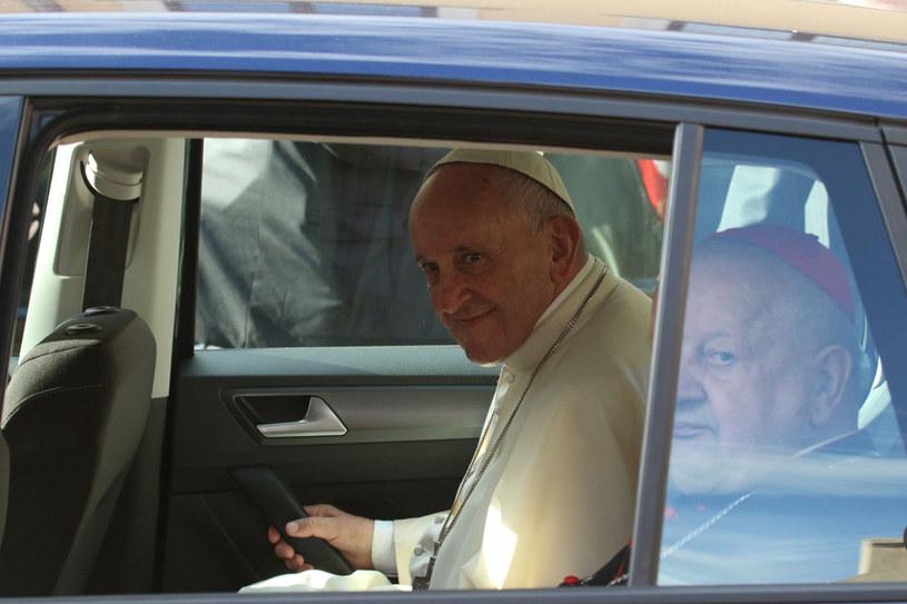 Papież Franciszek /Stanisław Rozpędzik /PAP