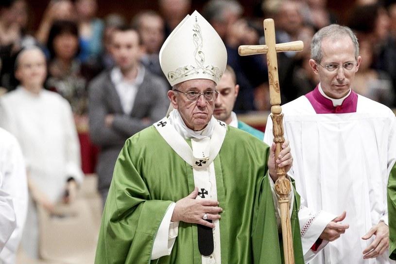 Papież Franciszek /GIUSEPPE LAMI /PAP