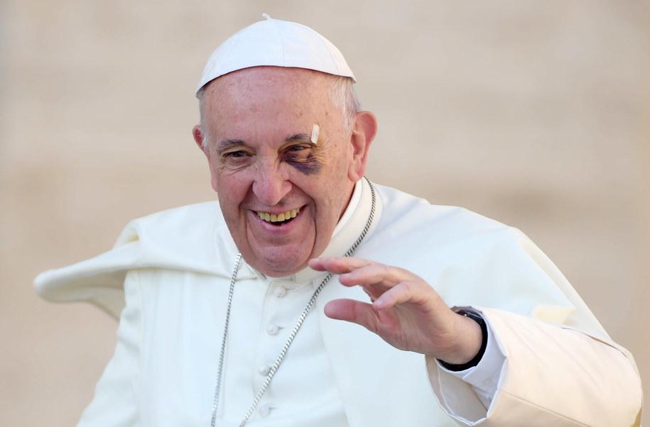 Papież Franciszek /Vandeville Eric/ABACA /PAP/EPA