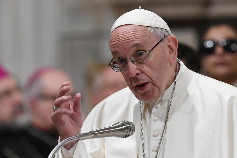 Papież Franciszek /FILIPPO MONTEFORTE /PAP/EPA
