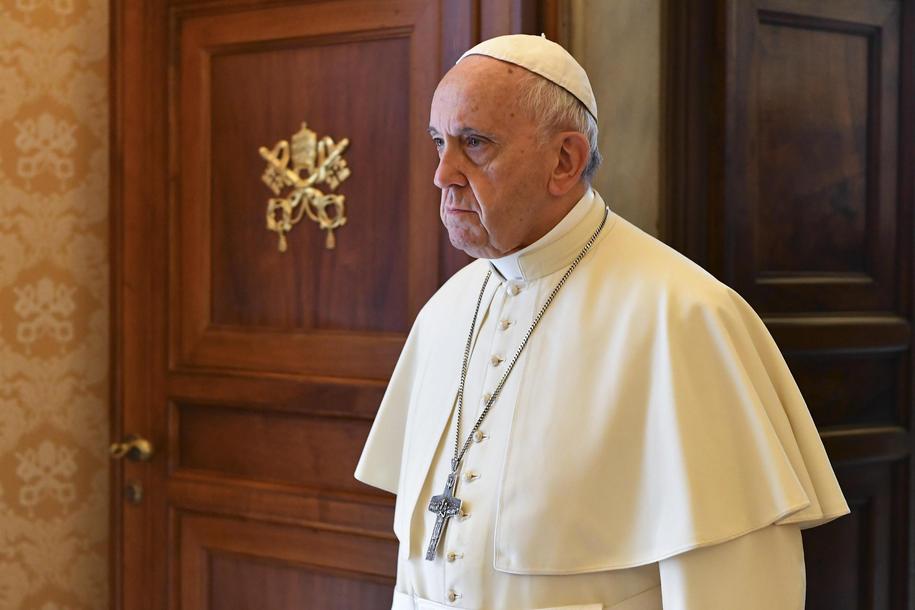 Papież Franciszek /VINCENZO PINTO / POOL /PAP/EPA