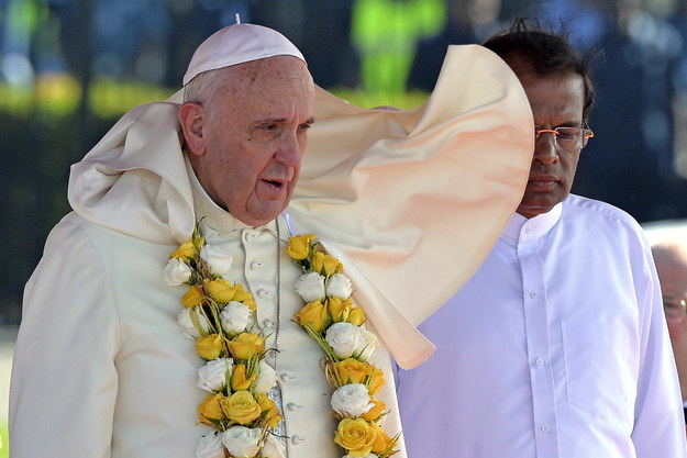 Papież na Sri Lance: Wizyta potrwa 3 dni