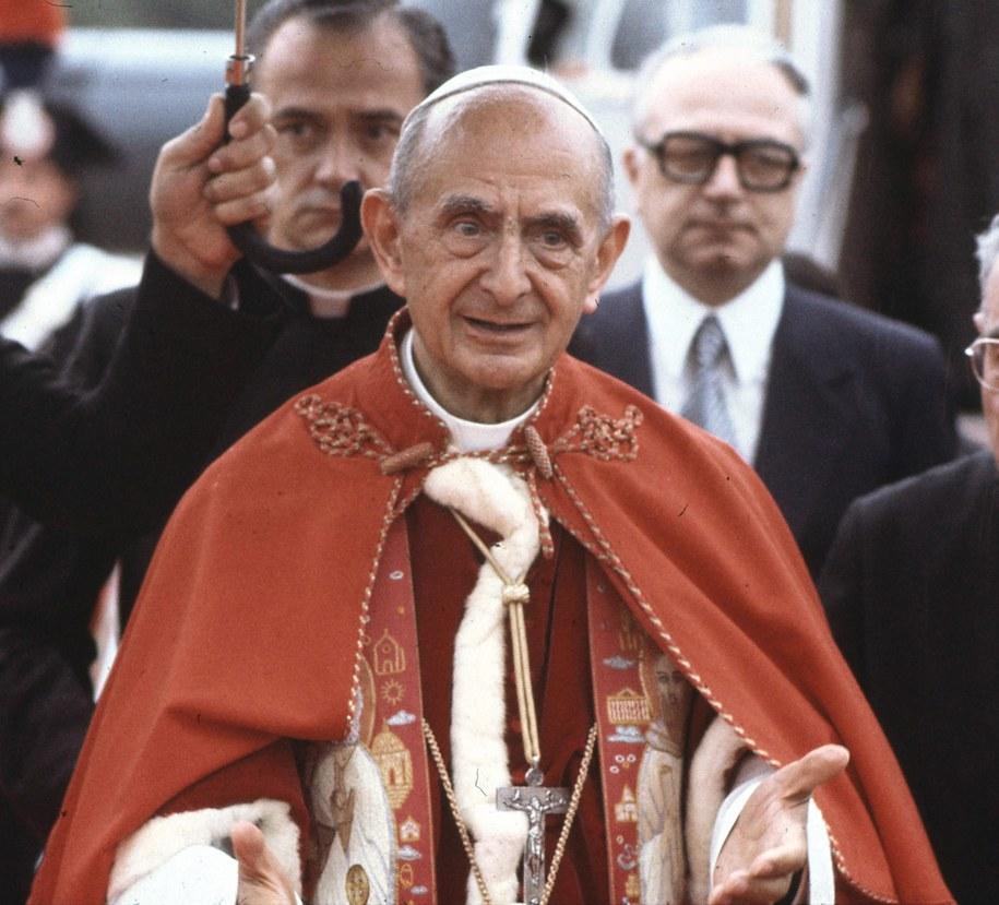 Papież Paweł VI /ANSA /PAP/EPA