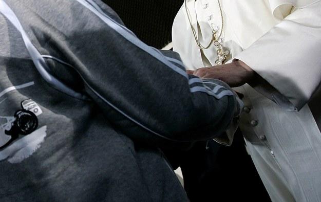 Papież spotka się z więźniami zakładu karnego dla nieletnich Casal del Marmo /AFP