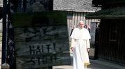 Papież spotkał się z 12 byłymi więźniami Auschwitz