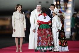 Papież z wizytą w Meksyku