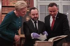Para prezydencka w Bibliotece Narodowej
