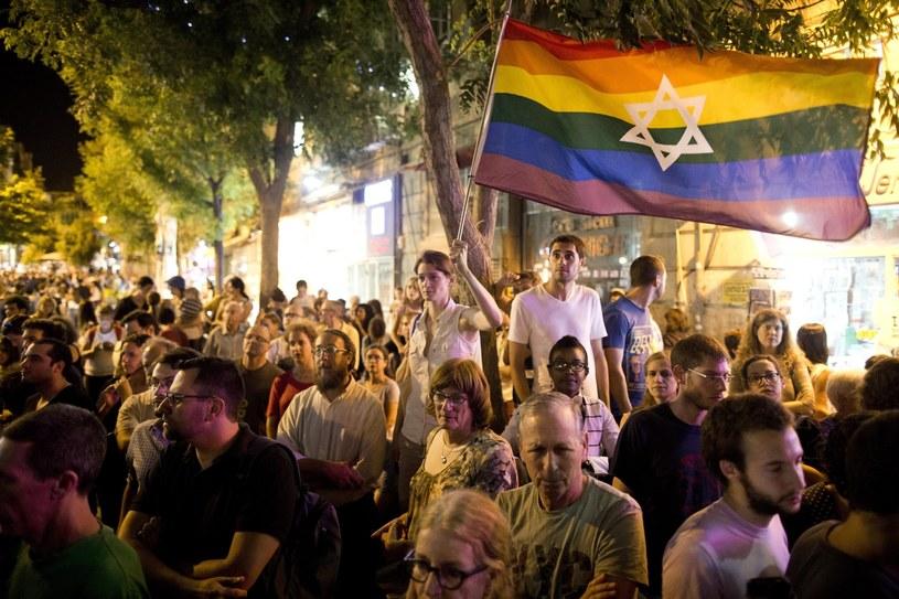 Parada gejowska odbyła się w Jerozlimie /PAP/EPA