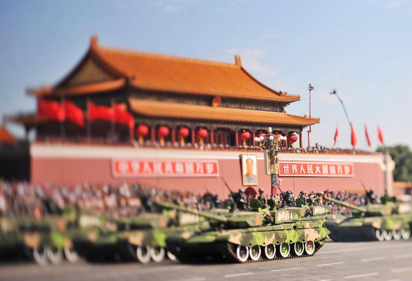 Parada na Placu Tiananmen /AFP