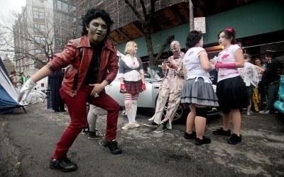 Parada z okazji Halloween /AFP