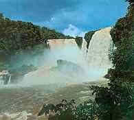Paragwaj, Wodospad Monday /Encyklopedia Internautica