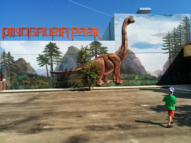 Park dinozaurów na Krecie //fot. DBM /INTERIA.PL