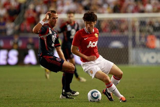 Park Ji-sung, piłkarz Manchesteru United /AFP