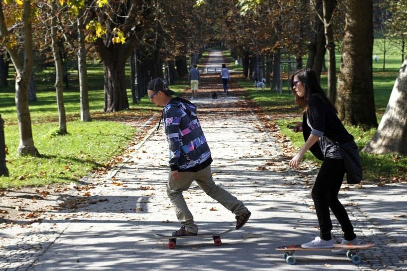 Park Tivoli - tu odpoczywają mieszkańcy Lublany /Filip Horvat /The New York Times Syndicate