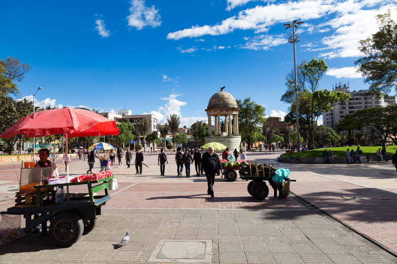 Park w Bogocie /123RF/PICSEL