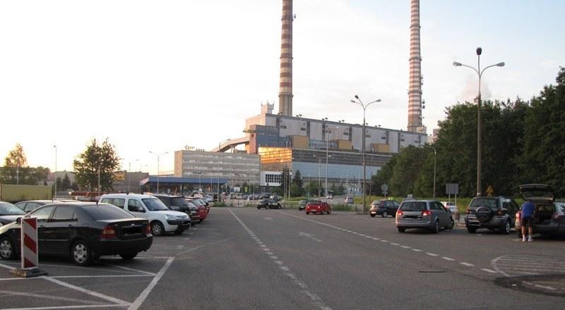 Parking, na którym doszło do tragedii /Marcin Buczek /RMF FM
