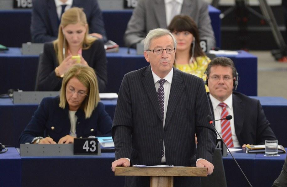 Parlament Europejski wybrał Jean-Claude'a Junckera na nowego przewodniczącego Komisji Europejskiej /Patrick Seeger  /PAP